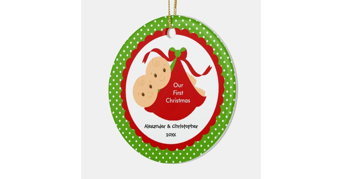 Baby Boy Christmas Ornaments