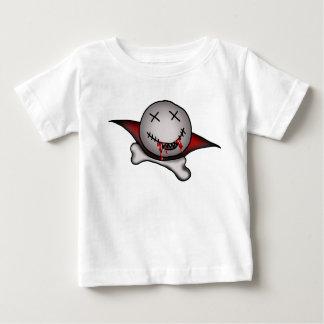 Baby Boy Vampire Skull Baby T-Shirt