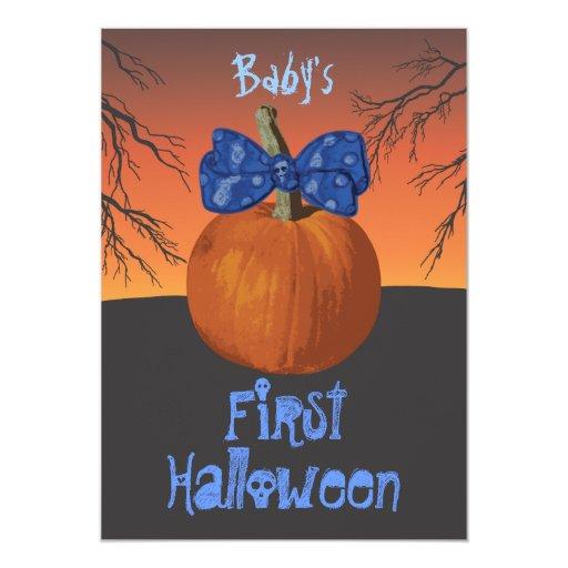 Baby Boy Gifts Halloween : Baby boys st halloween party invitations zazzle