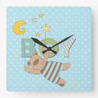 baby Boys Bedroom Clock