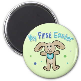 Baby Boy's First Easter Fridge Magnets
