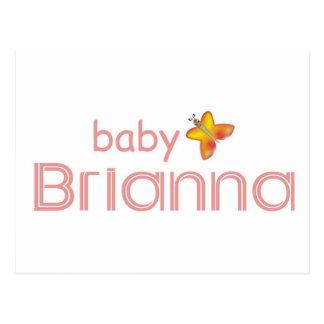 Baby Brianna Postcard