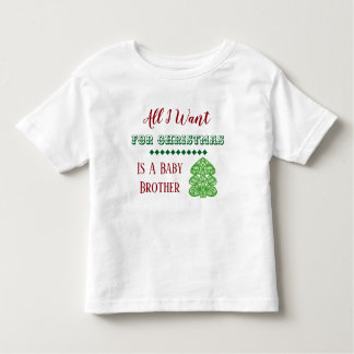Baby Brother Christmas T-shirt