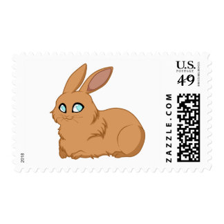 Baby Brown Bunny Postage