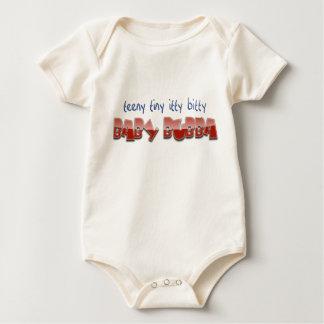 Baby Bubba  - for Teeny Tiny itty bitty rednecks Baby Bodysuit