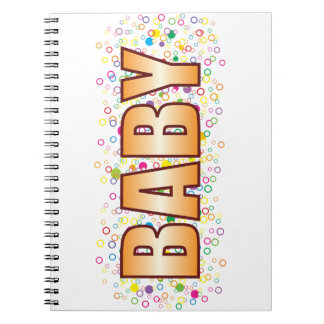 Baby Bubble Tag Notebooks