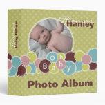 Baby Bubbles Album 3 Ring Binder
