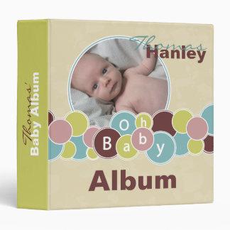 Baby Bubbles Album Binder