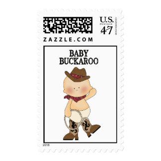Baby Buckaroo Postage Stamps
