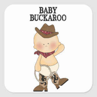 Baby Buckaroo Stickers