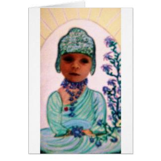baby  Buddha Greeting Card