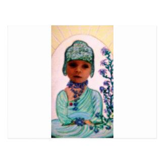 baby  Buddha Postcard