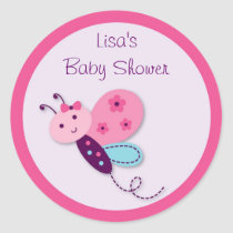 Baby Bug Butterfly Stickers Envelope Seals