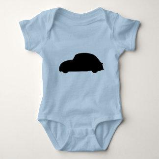 Baby Bug Outline Infant Creeper
