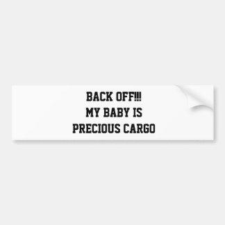 "Baby ""buggie"" Bumper Sticker Car Bumper Sticker"