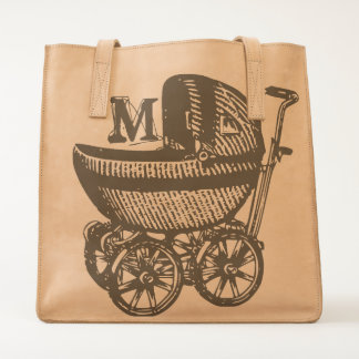 Baby Buggy & a Monogram Tote