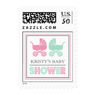 Baby Buggy Baby Shower Postage