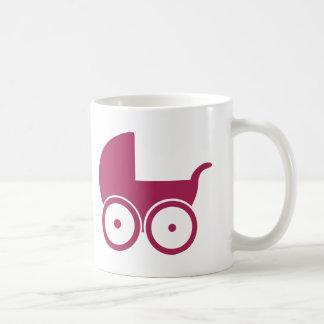 Baby buggy coffee mugs