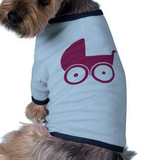 Baby buggy doggie tee shirt