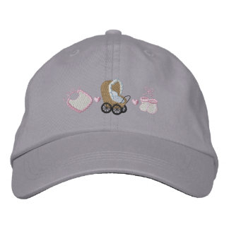 Baby Buggy Embroidered Baseball Hat