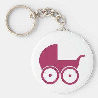 Baby buggy key chain