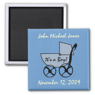 Baby Buggy Magnet