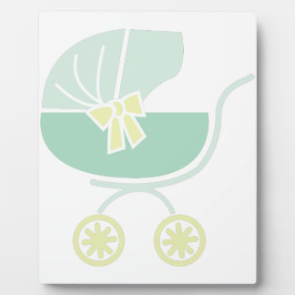 Baby Buggy Photo Plaques