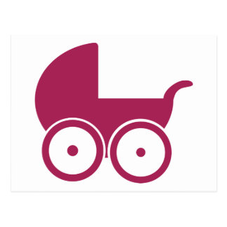 Baby buggy post card