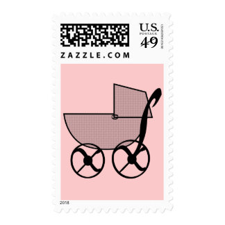 Baby Buggy Postage Stamps