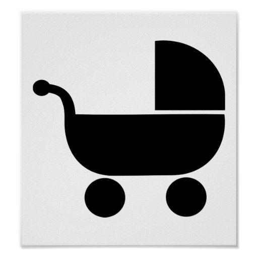 Baby buggy poster