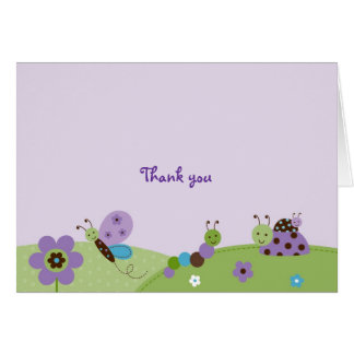 Baby Bugs Thank You Note Cards