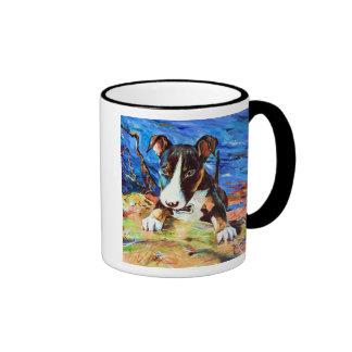 Baby Bullet - Bull Terrior Ringer Mug