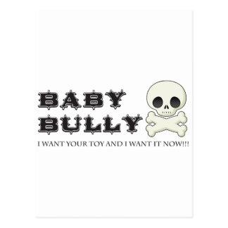 Baby Bully Postcard