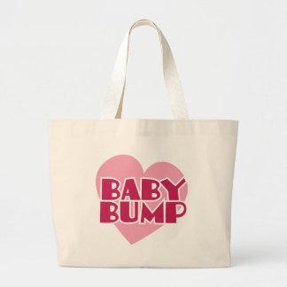 Baby Bump design Large Tote Bag