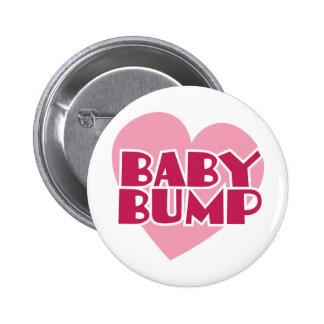 Baby Bump design Pinback Button