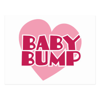 Baby Bump design Postcard