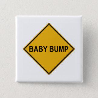 Baby Bump Maternity Pinback Button