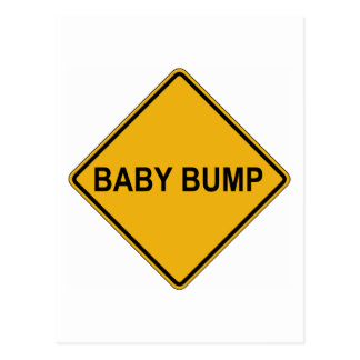 Baby Bump Maternity Post Cards