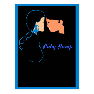Baby Bump Postcard