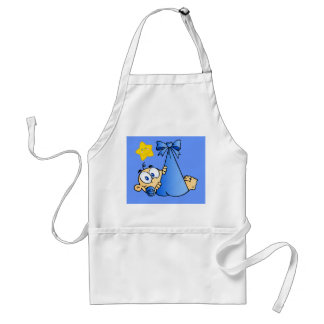 Baby Bundle and Sun Adult Apron