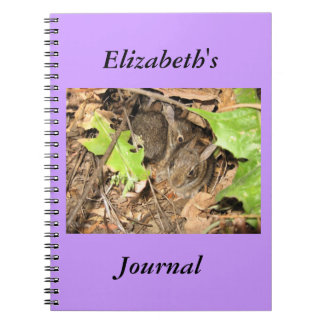 Baby Bunnies Personalize Journal #2