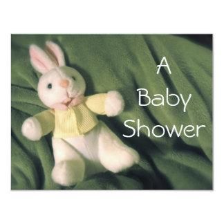 Baby Bunny Baby Shower Invite