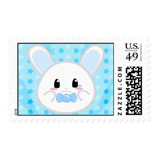Baby Bunny - Boy Postage
