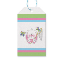 Baby Bunny Cartoon Gift Tags