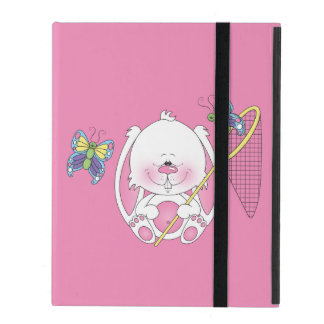 Baby Bunny Cartoon iPad Folio Case