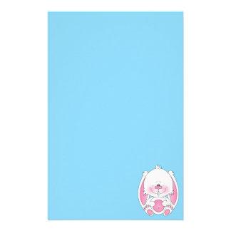 Baby Bunny Cartoon Stationery