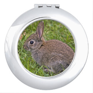 Baby Bunny Compact Mirror