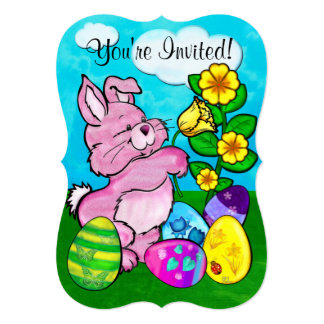 Baby Bunny Easter Card