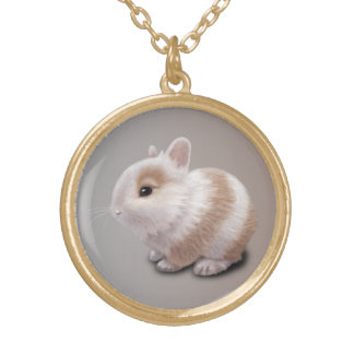 Baby Bunny Gold Plated Necklace