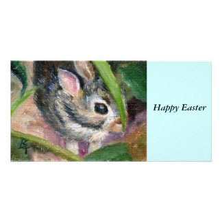 Baby Bunny Hiding Card